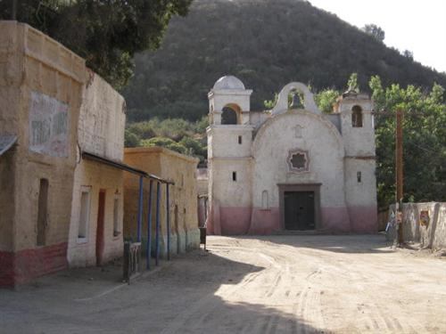 VELUZAT RANCH Mexican town CHURCH and ST.