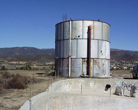 AirPark water tank
