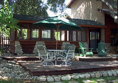 Harnage Ranch patio