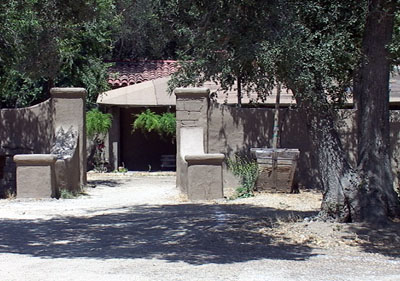 Melody Ranch Gate